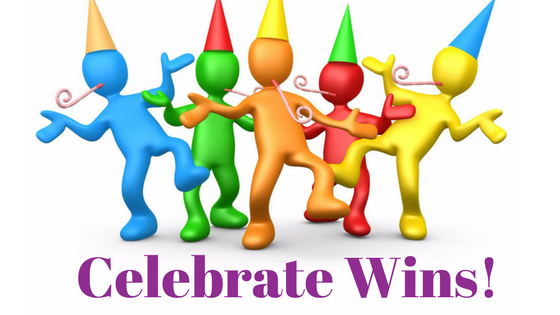 Celebrate Wins – Big and Small – Heather Patterson – Happiness Speaker
